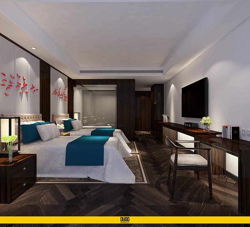 秦源温泉酒店 空间设计部分-陕西度高环境艺术设计有限公司