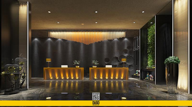 西安市北郊酒店 空间设计 方案-陕西度高环境艺术设计有限公司