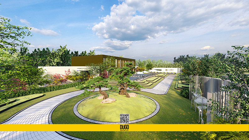 东鹏公园印 售楼部 景观设计部分-陕西度高环境艺术设计有限公司