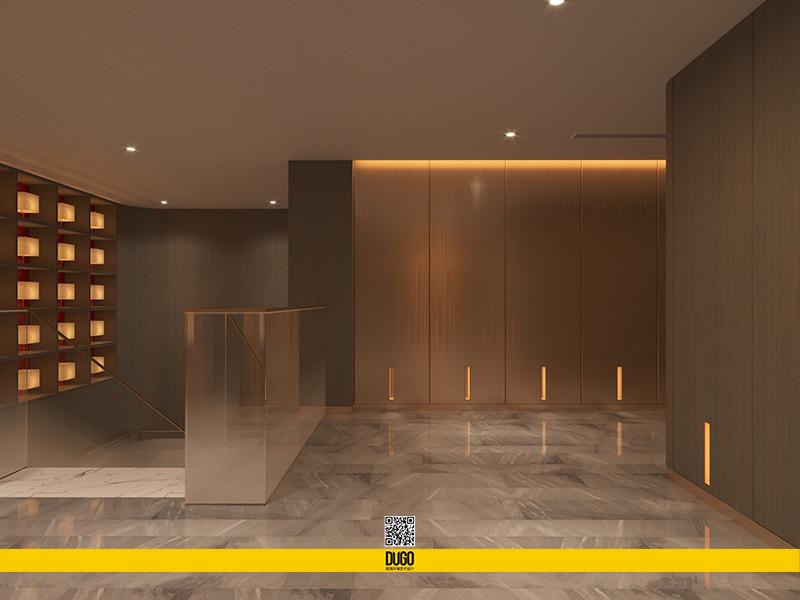 水阅兰亭会所空间设计-陕西度高环境艺术设计有限公司